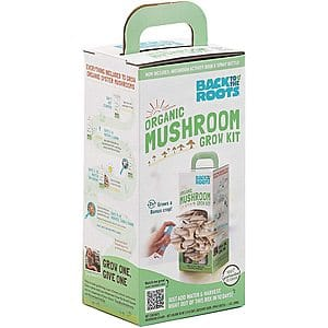 Back to the Roots Organic Oyster Mushroom Grow Kit - $11.16 + Free Shipping  (Amazon.com)