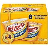 Velveeta Shells and Cheese Original Single Serve Cups, 2.39 Ounce, 8 Count $  5.59 + FS w/S&S