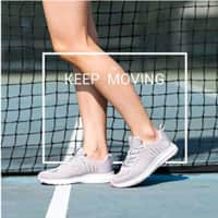 Women Running Shoes Lightweight Breathable Sneakers $14.8