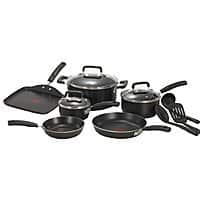 12-Piece T-fal Signature Nonstick Expert Thermo-Spot Heat Indicator Dishwasher Safe Cookware Set $  39.99 @ Amazon