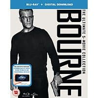 The Bourne Ultimate 5-Movie Collection (Region Free Blu-ray + Digital HD) $  17.45 Shipped