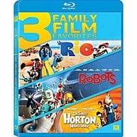 Rio / Robots / Horton Hears a Who Triple Feature (Blu-ray) $  3.99 + Free Shipping