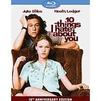 $5.99 Blu-ray Movies: 10 Things I Hate About You 10th Anniversary Edition, Millers Crossing, Birdcage, Moonstruck, The Breakfast Club & More + Free Store Pickup @ Best Buy