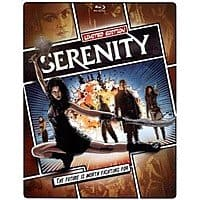 Serenity Limited Edition Steelbook (Blu-ray + DVD + Digital HD) $6.99 & More + Free Pickup @ Best Buy