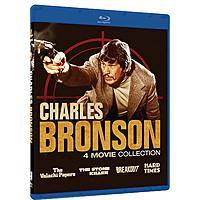 Charles Bronson 4 Movie Collection (Blu-ray) $4.99 @ Amazon