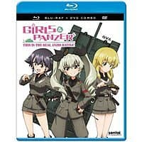 Add-on Item: Anime: Girls und Panzer: This is the Real Anzio Battle! (Blu-ray + DVD) $4.99 @ Amazon