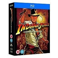 Indiana Jones: The Complete Adventures (Region-Free Blu-ray) $14.30 Shipped @ Amazon UK