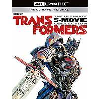 Transformers: 5-Movie Collection (4K UHD Blu-ray + Digital) $35.69 + Free Shipping