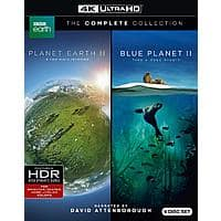 Planet Earth II & Blue Planet II Collection (4K UHD Blu-ray) $33.59 + Free Shipping