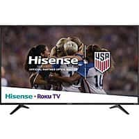 "My Best Buy Members: 65"" Hisense 65R6070E 4K UHD HDR Roku Smart LED HDTV $399.99 + Free Shipping @ Best Buy"