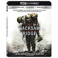 Hacksaw Ridge (4K Ultra HD + Blu-ray + Digital HD) $8 @ Amazon