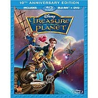 Disney's Treasure Planet: 10th Anniversary Edition (Blu-ray + DVD) $7.50 + Free Store Pickup