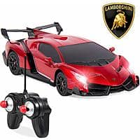 Lamborghini Veneno 1/24 Officially Licensed RC Toy Car (various colors) $11.99 + Free Shipping