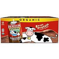 18-Ct of 8-Oz Horizon Organic Low Fat Milk Box (Chocolate) $13 + Free Shipping @ Amazon
