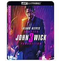 John Wick, John Wick 2 or John Wick: Chapter 3 (4K UHD + Blu-ray + Digital) $8 each