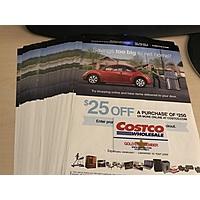 Costco.com $25 off $250 coupons