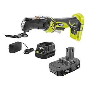 Ryobi Multi-tool kit $69, Ryobi drill kit $91 free shipping home Depot+ more