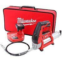 """Milwaukee M12 Grease gun kit and 1/4"""" ratchet $143.65 shipped"""