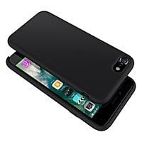 Silicone Gel Rubber Shockproof iPhone 8 /iPhone 7 Case (black) $  5.89 AC & FS w/ Prime @Amazon