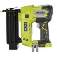 Refurbished RYOBI ZRP320 ONE PLUS 18V CORDLESS LITHIUM-ION 2 IN. BRAD NAILER (TOOL ONLY)  $68