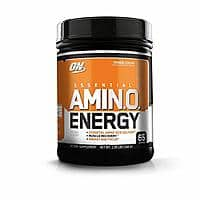 Optimum Nutrition Essential Amino Energy , Orange Cooler, Preworkout and Essential Amino Acids with Green Tea and Green Coffee Extract, 65 Servings for as low as $17.93 with S&S