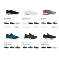 ASICS running shoes SALE up to 55% gel Sonoma Fujitrabuco Quantum Cumulus DynaFlyte and more...