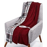 Biddeford Velour Sherpa Electric Heated Throw or Biddeford Heated Electric Plush Throw $8.98 + Free Shipping at Macy's