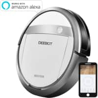 NEW Deebot Ecovac M87 Robotic Vacuum & Mopping System with Alexa $  179 - Meh.com $  184
