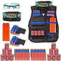 Kids Tactical Vest Kit for Nerf Guns N-Strike Elite Series on Amazon $  13.12 AC w/ Free Prime Shipping