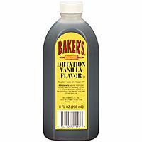 Baker's Imitation Vanilla Flavor (8 oz. bottle) = $0.98 shipped or $0.93 S&S