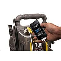 Stanley J7CS 350 Amp Battery Jump Starter with Compresor $  39.98 at Amazon and Walmart