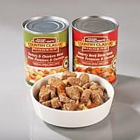 Drs. Foster & Smith brand canned Dog food, Turkey & Chicken Stew $6.25 per case of 12. Clearance Save 75%.. Drs. Foster & Smith