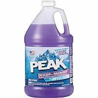 Peak 1 Gallon Bug Cleaner or 1 Gallon Deicer w/ Rain-Off Windshield Wash at Ace Hardware: $  0.99