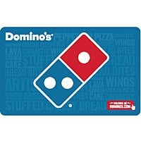 $50 Domino's Gift Card (Email Delivery) for $40