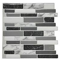 "10-Pack Art3d 12"" x 12"" Peel & Stick Backsplash Kitchen Tile (Grey/White Mosaic) $26.60 & More + Free Store Pickup"