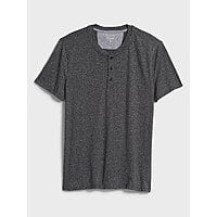 Banana Republic Factory: Men's Quick Dry Henley & Pique Polos 4 for $30.60 & More + Free S/H on $50+