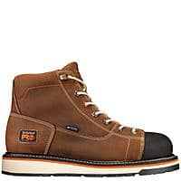 "Men's Timberland PRO 6"" Gridworks Waterproof Work Boots, Soft Toe $85 + Free Shipping"