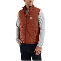 "Men's Carhartt Gilliam Vest $32, Men's 6"" Work Boots: DeWalt Baltimore $50, CAT Alaska 2 Waterproof $56 