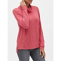 Banana Republic Factory: Women's Funnel-Neck Top $5.94, High Rise Grey Skinny Jean $14.87, Hayden Pull-On Ankle Pant $11.47, Cowl-Neck Sweater Dress $12.74 + FS on $10.63+