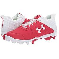 Under Armour Men's Leadoff Low RM Running Shoe, Red/White, Size 12.5 Only $11.08 + FS w/ Prime