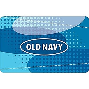 Prime Members: Buy $50 in Old Navy or Gap Email Gift Cards for $39.50