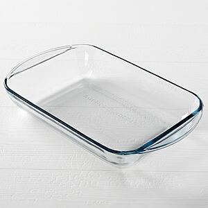 "Anchor Hocking 9""x 13"" Glass Pan Casserole Baking Dish $6 + Free Store Pickup"