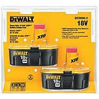 DEWALT 18V Battery, XRP, Combo Pack (DC9096-2) $69 Shipped Free
