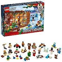 LEGO City Advent Calendar 60235 Building Kit, New 2019 (234 Pieces) and LEGO Friends Advent Calendar 41382 Building Kit, New 2019 (330 Pieces) $23.99