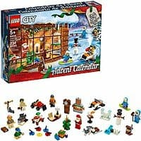 LEGO City Advent Calendar 60235 Building Kit, New 2019 (234 Pieces) & LEGO Friends Advent Calendar 41382 Building Kit, New 2019 (330 Pieces) - $19.99