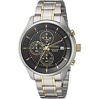 Seiko Men's Chronograph Watch w/ Stainless Steel Bracelet $  81.46 + Free Shipping