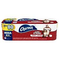 Target: Charmin Ultra Strong Toilet Paper - 18 Mega Plus Rolls ( = 82 Regular) $17.42