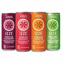 24-Pack 8.4oz IZZE Sparkling Juice (Variety Pack) - $4.98 w/S&S and coupons, (As Low As - $3.36)