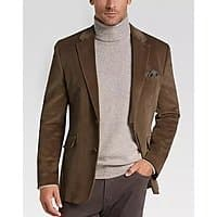 Extra 40% Off Clearance Sportcoats at Men's Warehouse: Joesph Abboud Tan Velour $31.49 | Slim-Fit Suits: Perry Ellis Premium Extreme, Ben Sherman Extreme $70 + FS