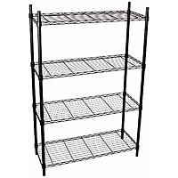 "Honey-Can-Do 4-Tier 36"" x 14"" x 54"" Steel Storage Shelving (250-lbs Per Shelf) $24.95"